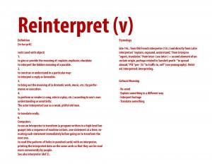Reinterpret copy