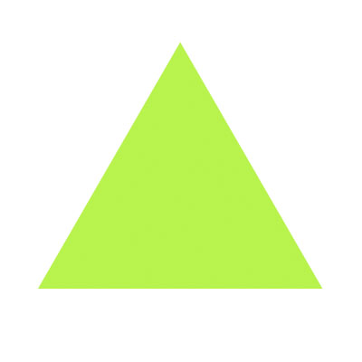 Image result for small green triangle