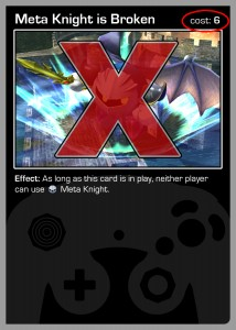 metagame - ban metaknight