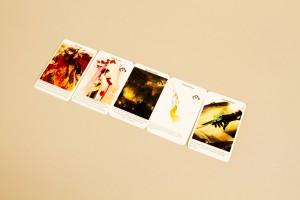 event cards close up
